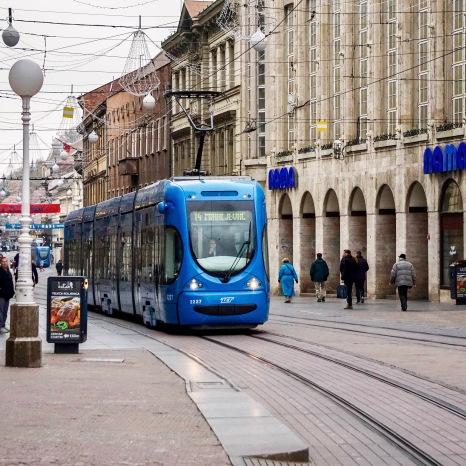 Tranvaj, Zagreb